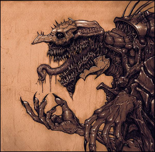 monster nightmare concept zach smithson