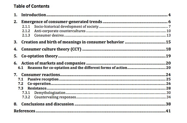 psychology thesis contents page Dissertation helpers if you're writing a thesis or many universities have their own preferences for the format of the title page, table of contents.