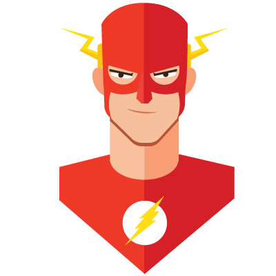 super heroes avatars on behance