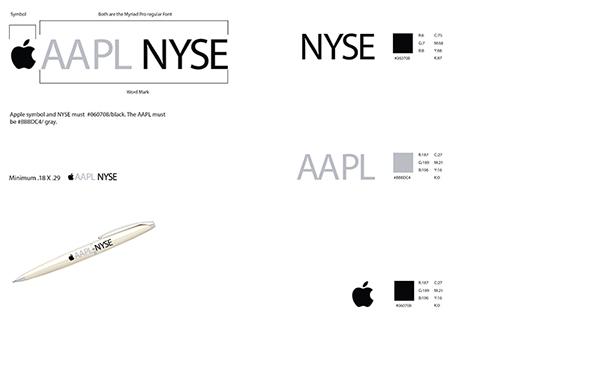 apple brand identity guide on behance