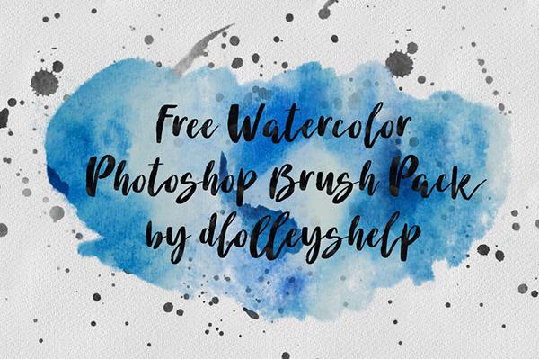 有創意感的12個photoshop水彩效果筆刷欣賞