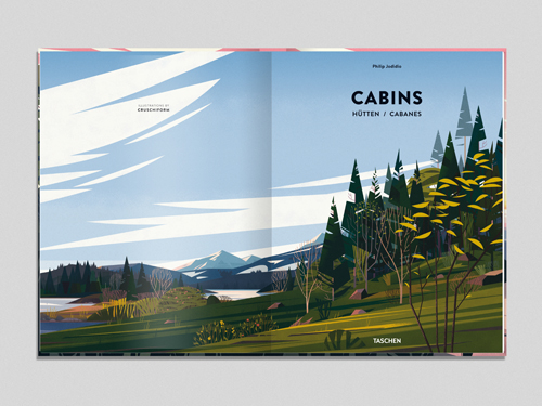 Cabins Book Illustrations On Behance