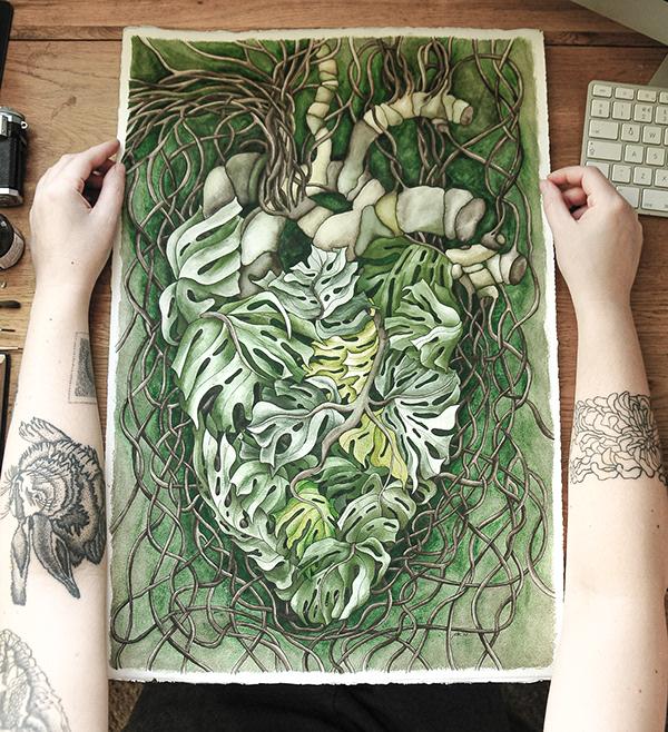 Monstera's Heart