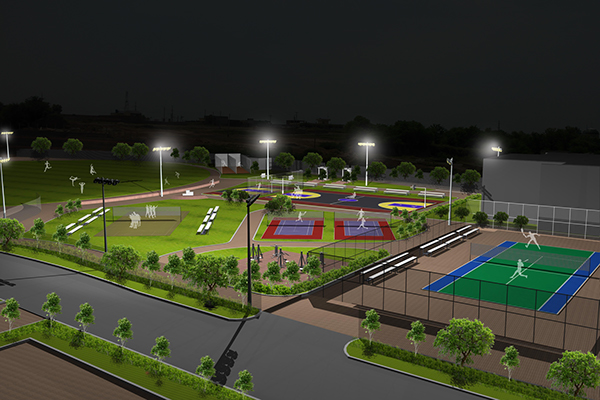 Ciit Sports Complex On Student Show