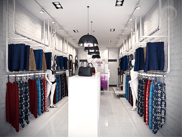 Fashion Showroom Concept On Behance