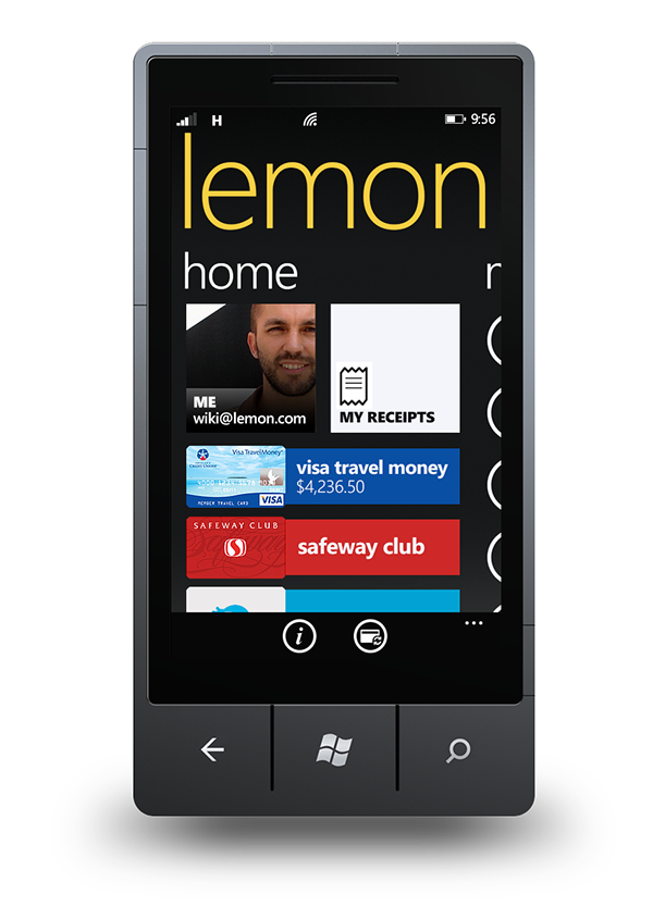 Lemon App For Wp On Pantone Canvas Gallery