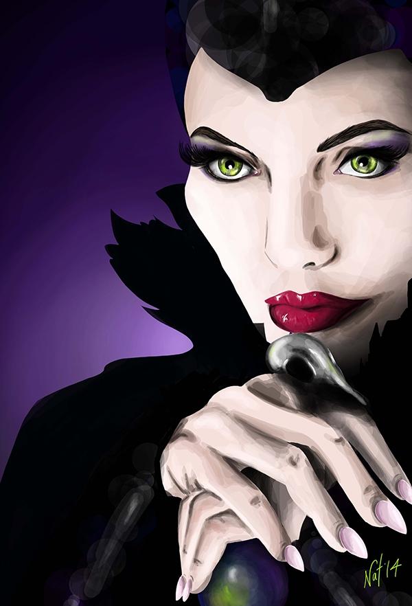 Maleficent Fan Art On Wacom Gallery