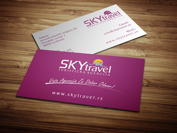 Logo & Busines card Design for Travel Agency on Behance
