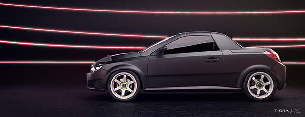 opel tigra twintop styling project on behance. Black Bedroom Furniture Sets. Home Design Ideas