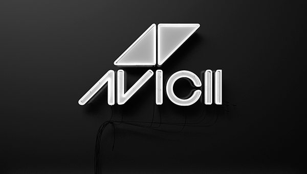 Avicii neon _ver2 on Behance