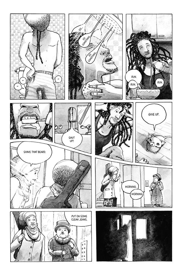 Comic Book joachim deutschland mokoh music