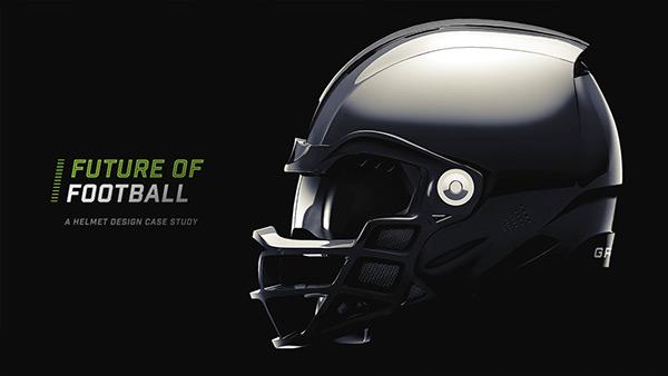 Future Football Helmet Design Case Study On Behance