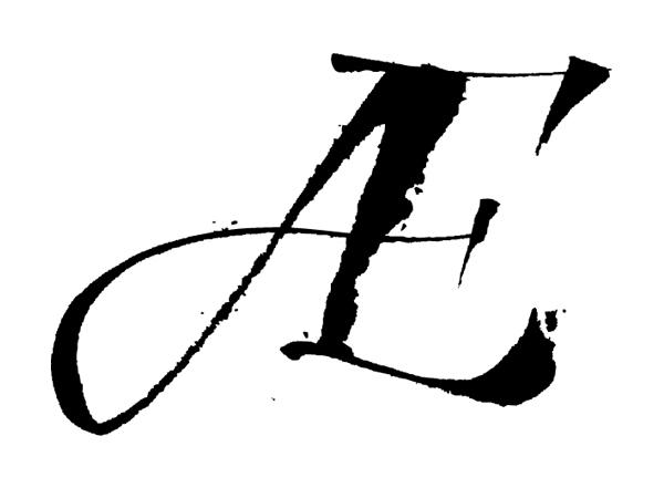 lettering Custom type swash