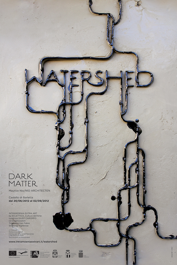 dark matter watershed oil spill PAMELA CAMPAGNA L-ABLE material graphic