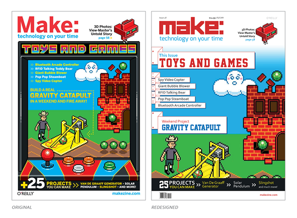 make magazine Makezine DIY redesign instructables