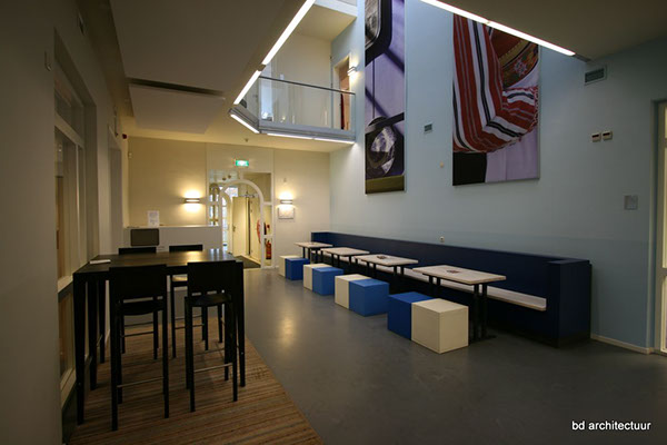Office Design hal restaurant Void acoustics