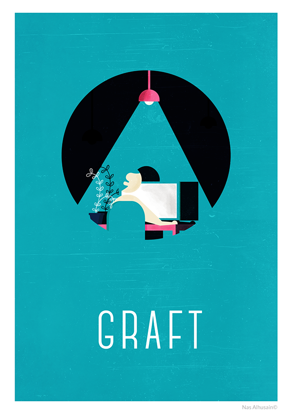 how to stay creative posters on behance
