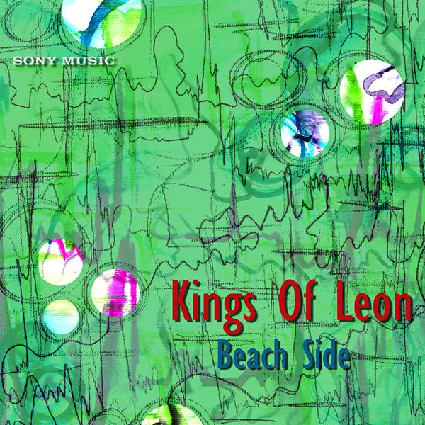 Kings of Leon Album Cover Beach Side-kings of Leon Album