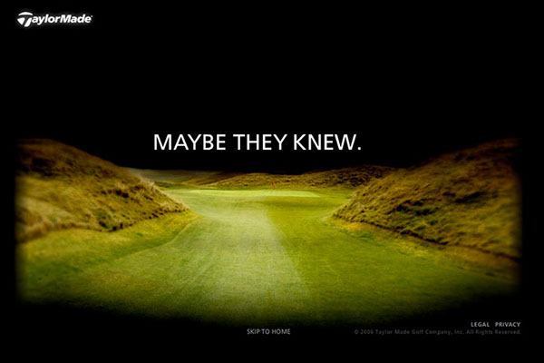 Taylormade Golf: Maybe They Knew on Behance  Taylormade Golf...