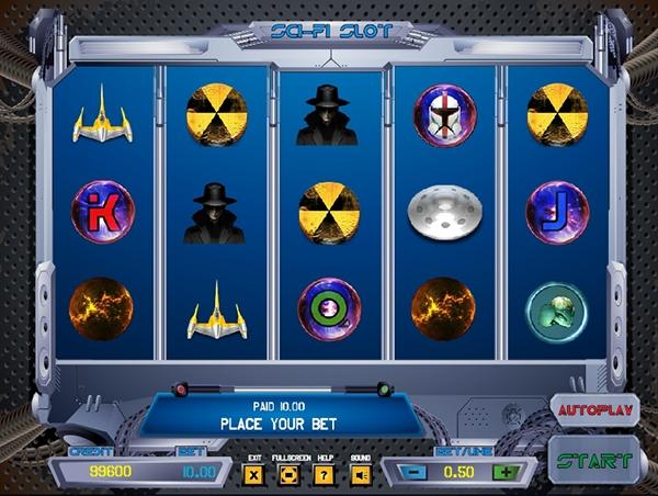 Sci fi slots