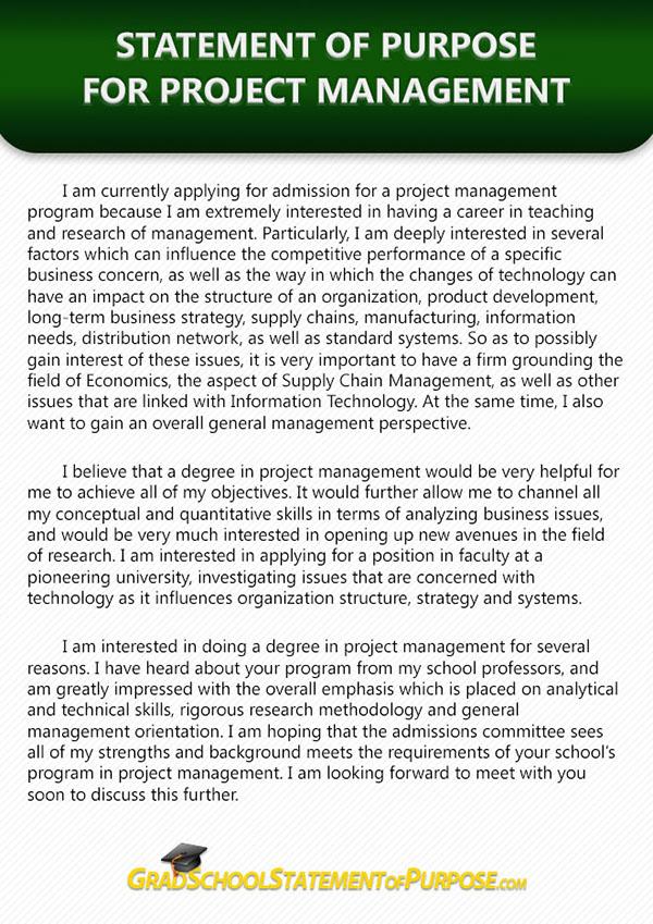 statement of purpose sports management