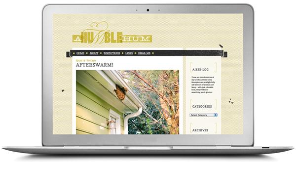honey bee Blog personal hive