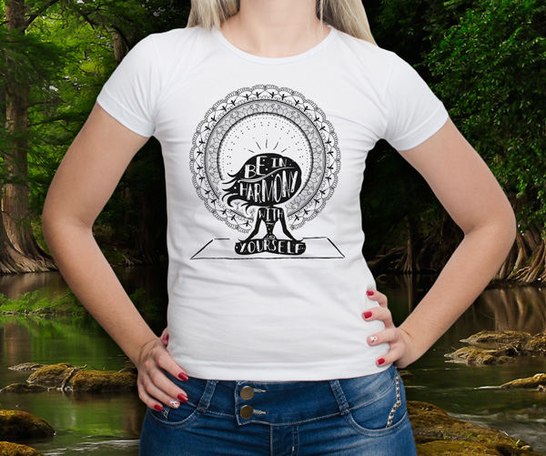 camiseta t-shirt aquarela print