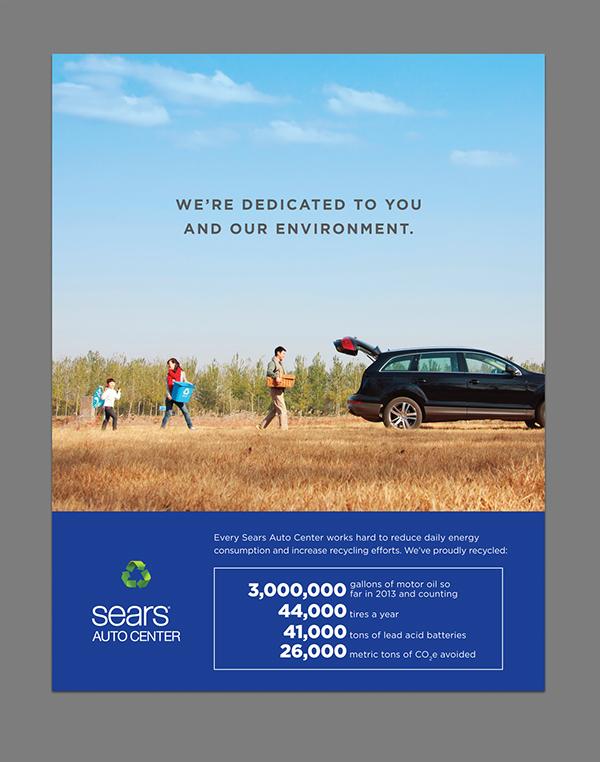 Sears Auto Center On Behance