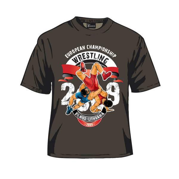 Imtyn s wrestling 2009 on behance for Wrestling tournament t shirt designs