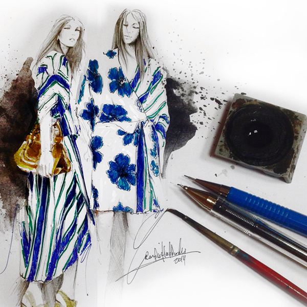 fashion illustration fashion art sketch fashion sketch portrait figurative art art