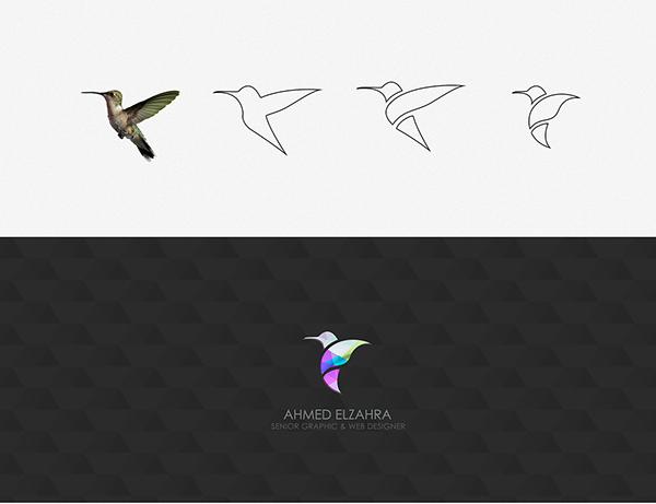 Humming Bird Logo Design on Behance