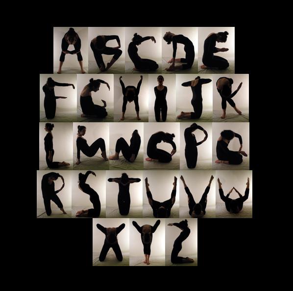 Body Alphabet On Behance