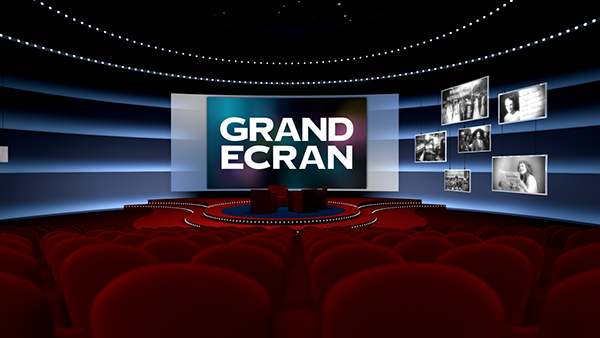 grand ecran virtual set on behance. Black Bedroom Furniture Sets. Home Design Ideas