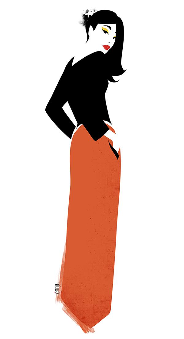 有創意感的35個衣服設計圖欣賞