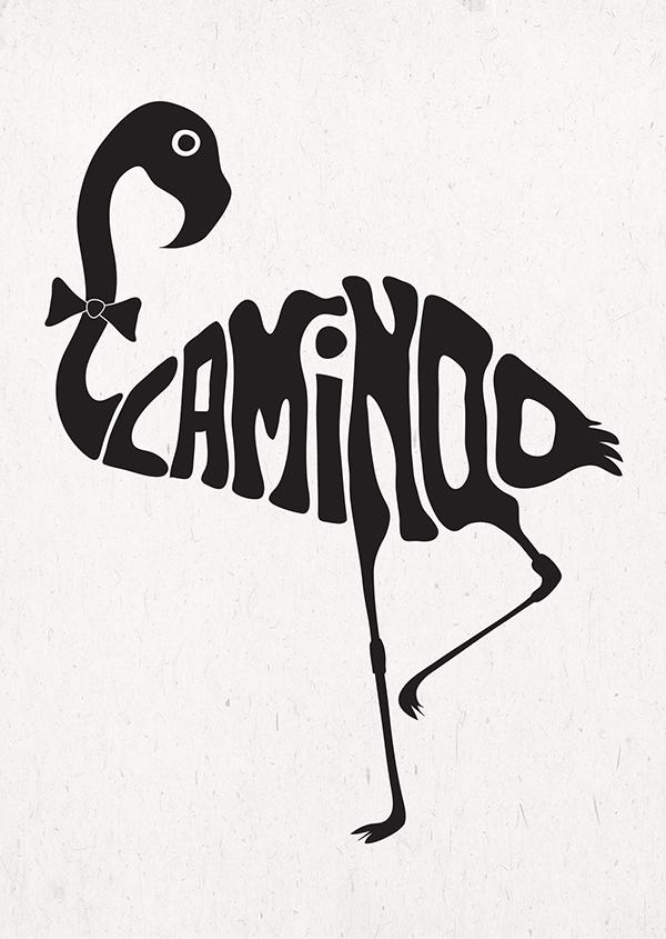 Animal Typography on Behance | 600 x 845 jpeg 243kB