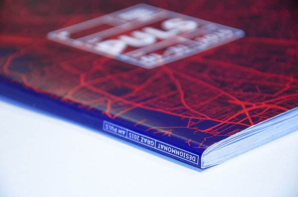 designmonat Event poster CI magazine citylight pulsating design art Exhibition  Design Month