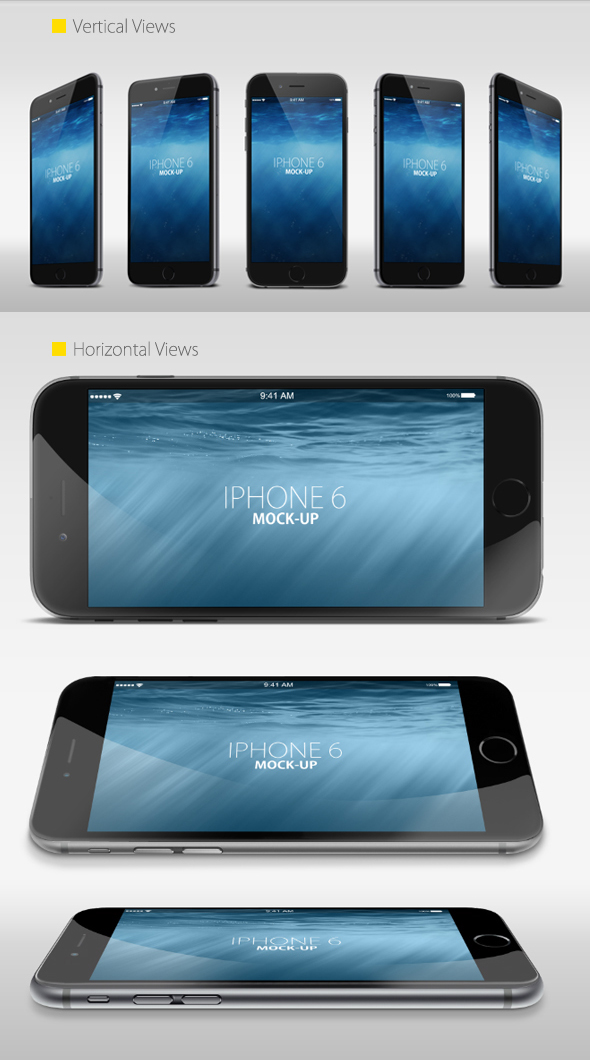 free iphone 6 mock up on behance