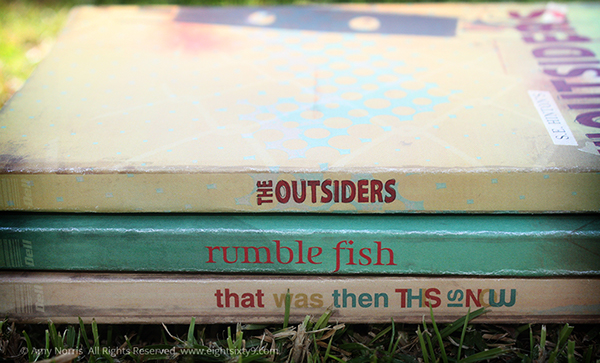 The outsiders rumble fish book covers on aiga member gallery for Rumble fish book