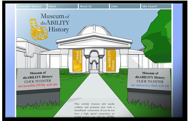 non-profit museum disabilities Website