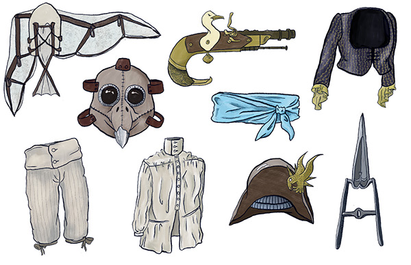 Character Design - Summer 2016 on MICA Portfolios