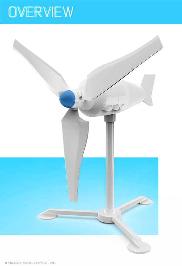 This is a graphic of 3d Printable Wind Turbine throughout mini portable