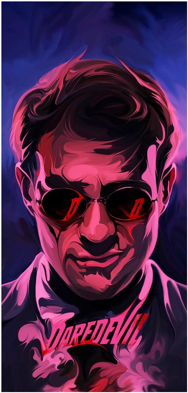 Poster Posse Daredevil Tribute by Joe Vetoe