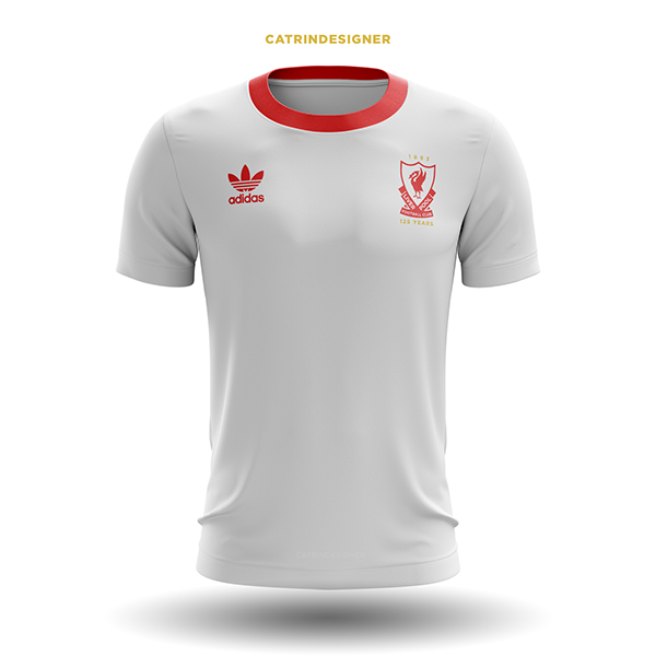 09f2fe359 LIVERPOOL.FC 125 YEAR ANNIVERSARY. KITS CONCEPT. Thanks for viewing