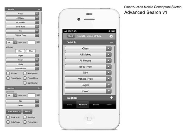Mobile Auto Auction Smartauction Mobile App Smartauction Ally >> Mobile Auction Site Ally Financial On Behance