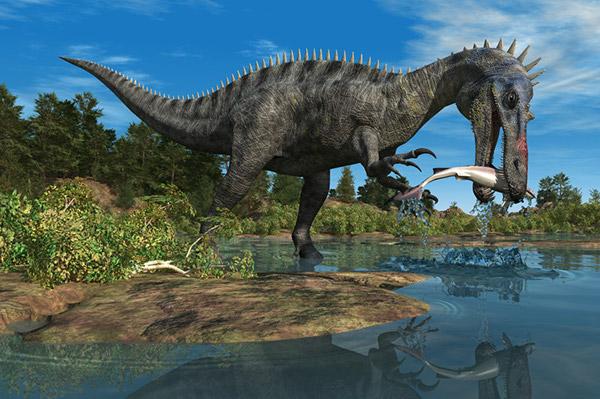 3D Dinosaurs on Behance