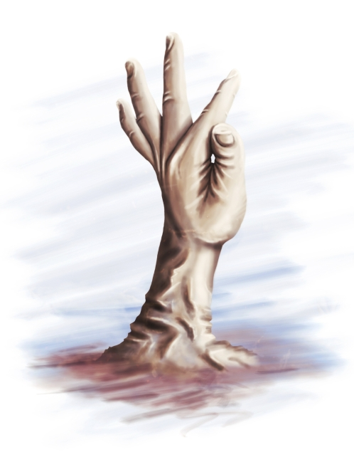 artwork Pascal Schmidt schmydt reach for the stars hand discovery SKY cloud Castle stone hands