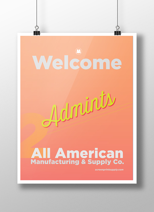 優秀的17張歡迎海報範本設計欣賞