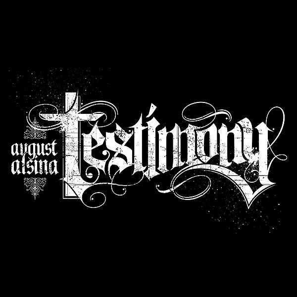 August alsina testimony typography on behance altavistaventures Images
