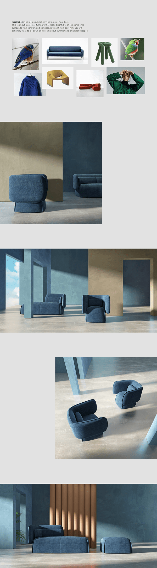 Fly seating collection