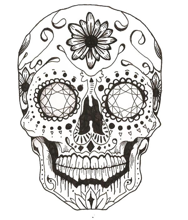 Candy Skull On Behance